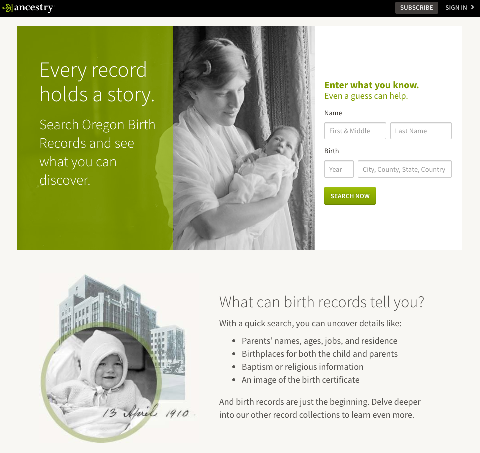How Ancestry grew to $850 million ARR - Inflection Growth by